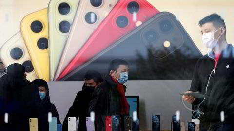 Apple kan tape markedsandeler og omsetning fra det kinesiske markedet hvis president Donald Trump gjør alvor av truslene om at to av Kinas mest populære apper må fjernes fra smarttelefoner.