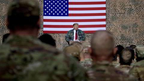 Like før midnatt norsk tid ble de to militærbasene Ain al-Asad og Camp Taji i Irak angrepet av Iran. USAs president Donald Trump besøkte Ain al-Assad i desember 2018.