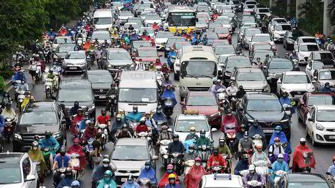 Kaoset er tilbake i Hanois gater etter at landet har fått kontroll med koronaviruset med ingen nye smittetilfeller på 25 dager og ingen dødsfall siden utbruddet startet.