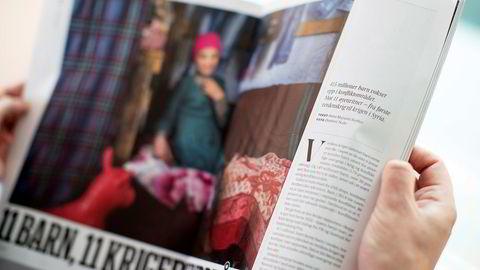 I Aftenpostens siste utgave av A-magasinet har de trykket en reportasje som kommer fra Redd Barna. Saken ble senere fjernet fra avisens nettsider.