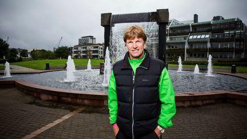 Bjørn Maaseide er klar for bank, men er mer usikker på veddemålet om å løpe New York Marathon sammen med tidligere sandvolleyball-makker Jan Kvalheim i 2018.