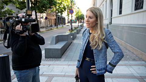 Julie Brodtkorb, leder for representantskapet i Norges Bank.