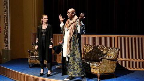 Sjaman Durek Verrett er kjæreste med prinsesse Märtha Louise.