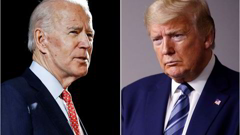 Tidligere visepresident Joe Biden og president Donald Trump befestet tirsdag stillingene som kandidater til årets presidentvalg.