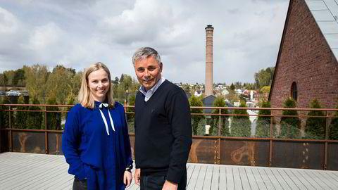 Henriette og Haakon Tronrud selger entreprenør virksomheten Tronrud Gruppen til BetonmastHæhre.