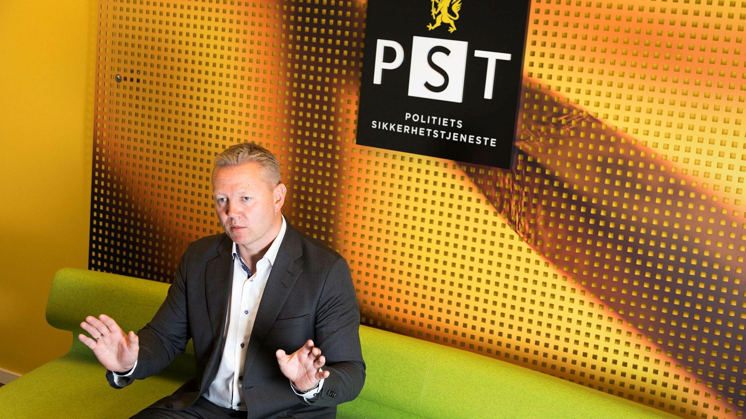 – Vi sitter på etterretningsinformasjon som gjør at vi har valgt å gjøre utdannelsessektoren ekstra oppmerksom på trusselen, sier seksjonsleder Arne Christian Haugstøyl i Politiets sikkerhetstjeneste (PST).