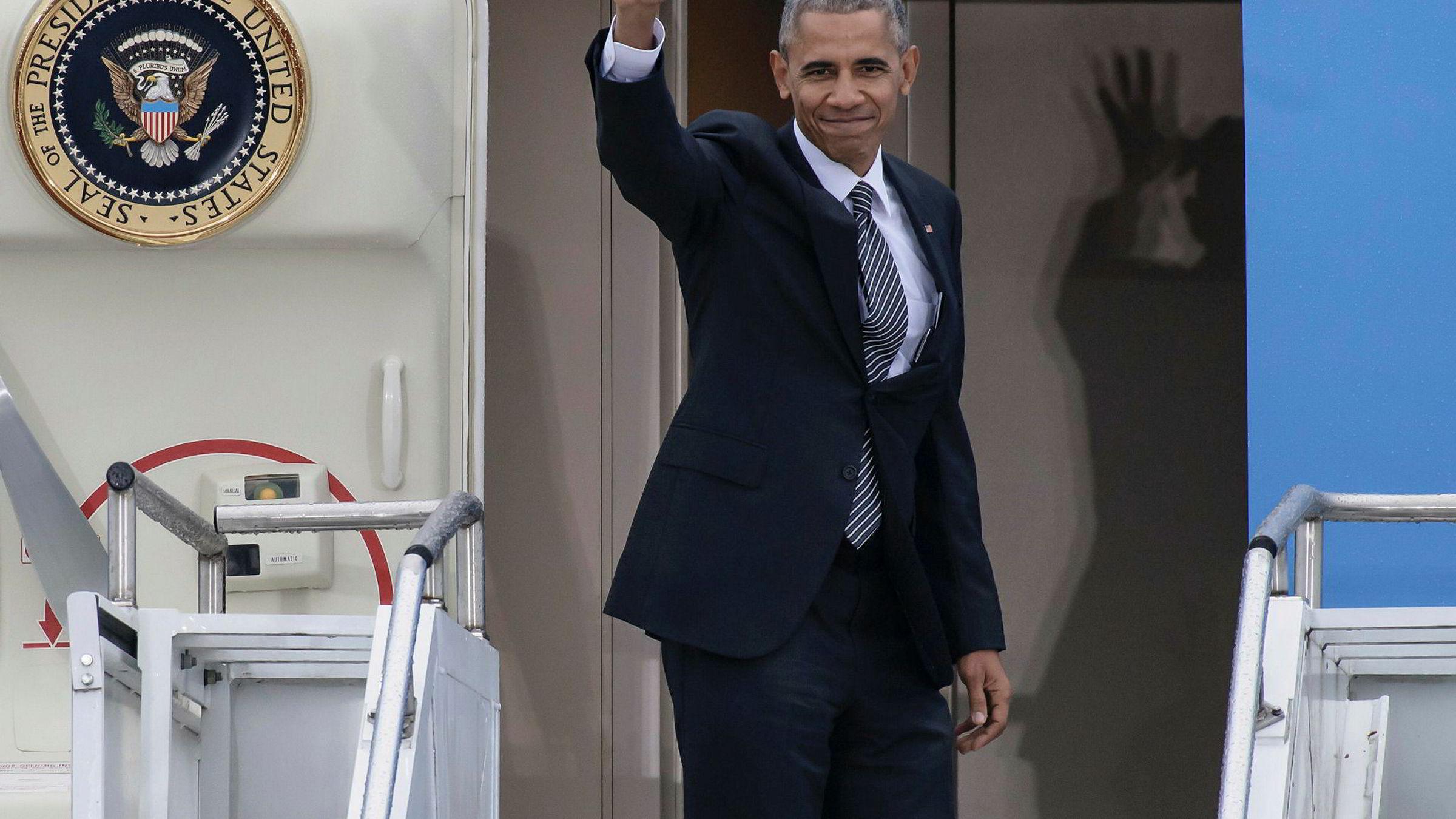 Fredag er Barack Obamas åtte år som USAs mektigste mann over.