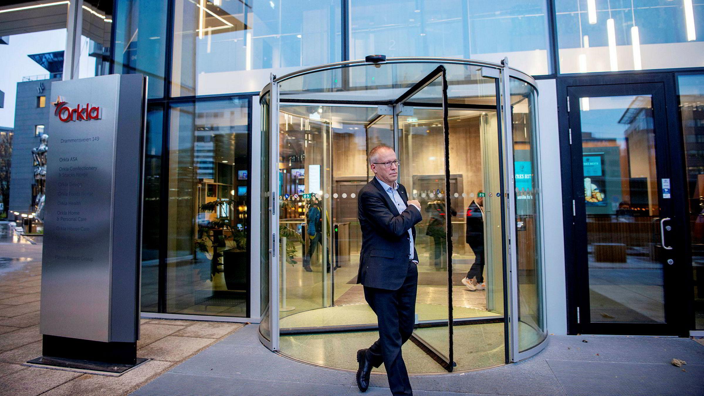 Håkon Mageli i Orkla avviser at selskapet har gjort noe galt.