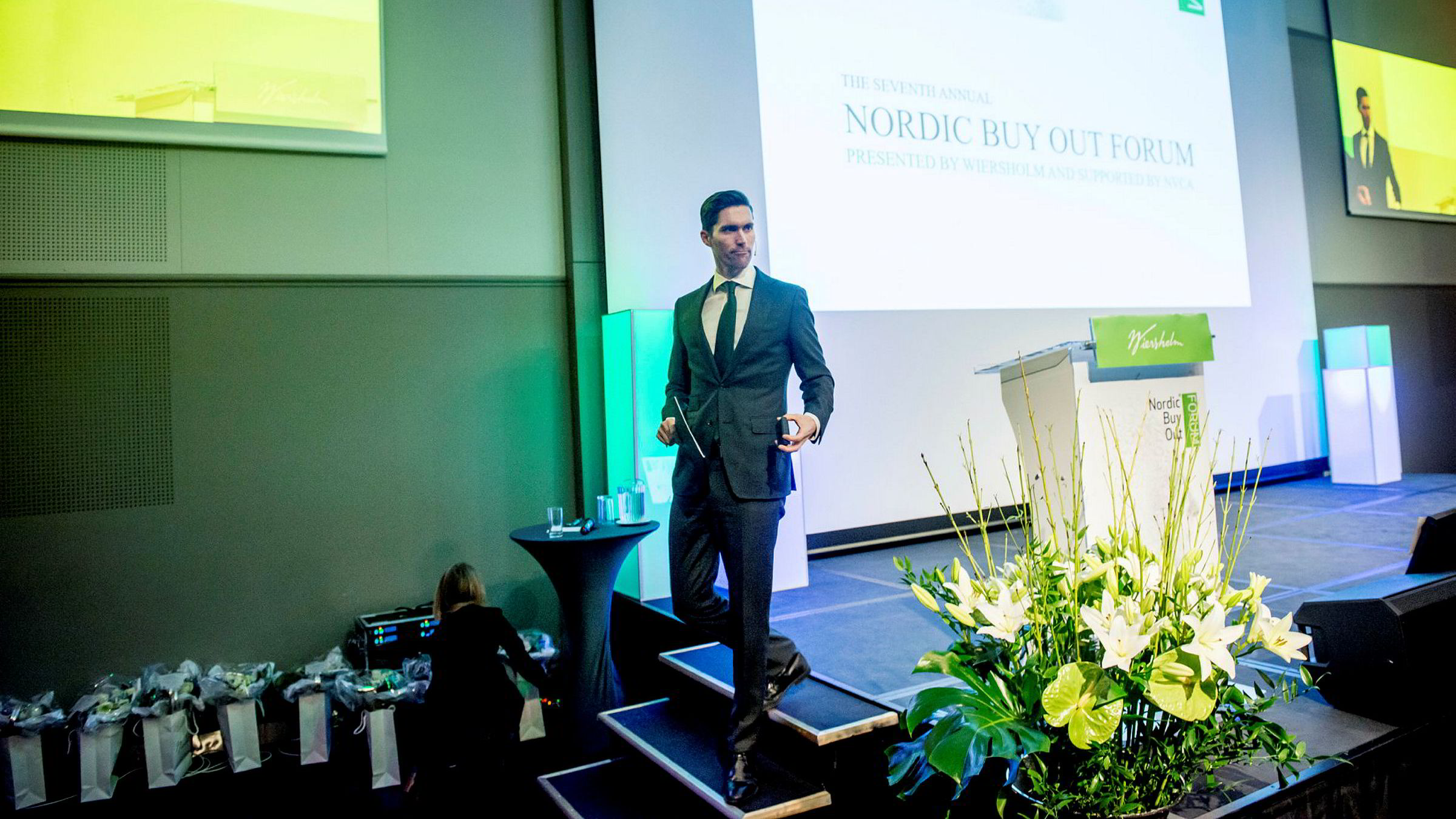 Leder for oppkjøpsfondet KKRs investeringer i Norden, Anders Borg, regner på nye oppkjøp i Norge og tror det meste av pengene i fremtiden vil gi inn i teknologidrevne selskaper.