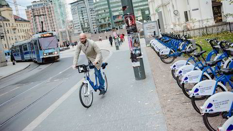 Finansdirektør Kristoffer Bøe Henriksen i selskapet Urban Infrastructure opplever at det er lett å få finansiering til grønne innovasjonsprosjekter for tiden.