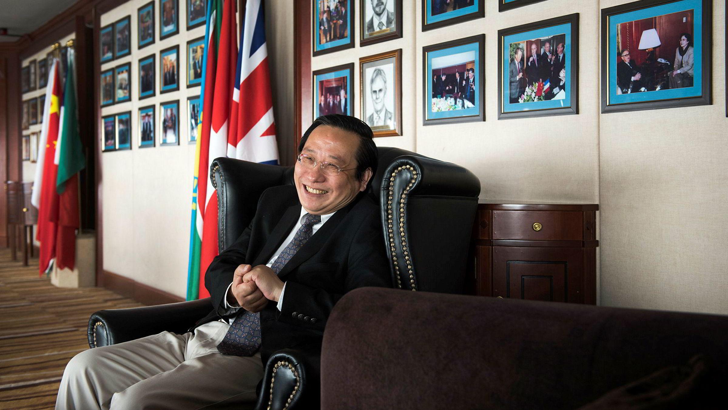 Victor Gao tok initiativ til å få Norge med i den Kina-ledede utviklingsbanken Asian Infrastructure Investment Bank i 2015. I «The Capital Club» snakker han varmt om det normaliserte forholdet.