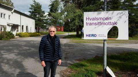 I september ble Hvalsmoen transittmottak tømt for asylsøkere etter at avtalen med UDI gikk ut, men mottaksdriften har fått etterspill både for eieren Oddvar Røysi (bildet) og en tidligere jurist i UDI som nå begge er siktet for korrupsjon.