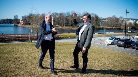 Det er sjeldent NHO-sjef Ole Erik Almlid og LO-leder Hans-Christian Gabrielsen er så enige som når de snakker om oppstart av CCS-prosjektene på Brevik og Klemetsrud. Investeringsbeslutningen må skje allerede i mai, er beskjeden fra de to.