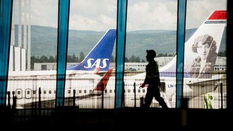 Utenlandstrafikken fra Oslo Lufthavn økte med åtte prosent i februar.