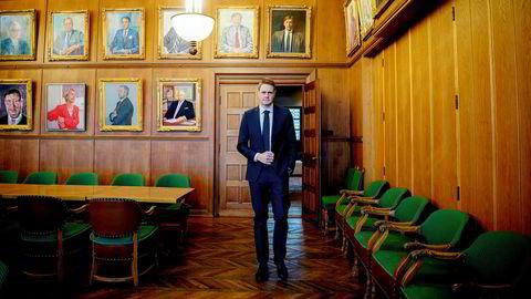 Harald Solberg sjef i Norges Rederiforbund.