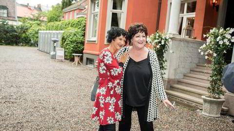 Unni Lindell (til venstre) og Anne B. Ragde sto bak Gloria forlags store satsinger, men har nå store pengekrav mot det konkursrammede forlaget.