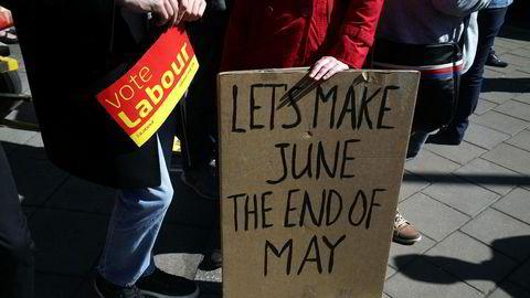 Labourtilhengerne håper valget i juni er slutten på statsminister May. De vil høyst sannsynligvis bli skuffet.