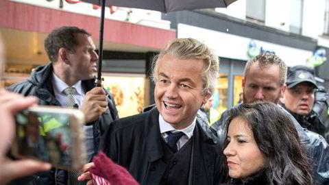 Høyrepopulisten Geert Wilders gjør det dårligere enn ventet i valget i Nederland.