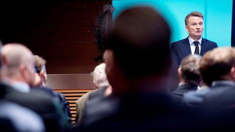 Egil Matsen, visesentralbanksjef i Norges Bank med ansvar for Oljefondet.