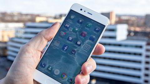 Huawei P10. Huawei P10 er en telefon det er lett å like. Svært gode bilder tar den også.