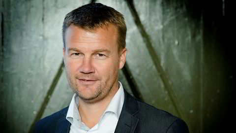 Ole Laurits Lønnum, konsernsjef i finanskonsernet Landkreditt.