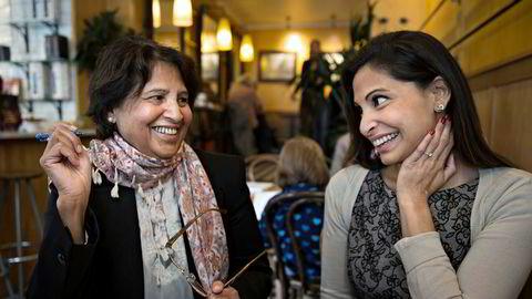 Frittalende. Azra Gilani har skrevet «En muslimsk mors kamp» med datteren Maria, og konsentrerer seg om ett emne i boken: barnas oppvekstvilkår.