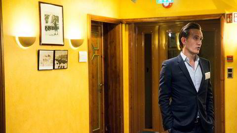 Porteføljeforvalter Kenneth Tveter i hedgefondet Svelland Capital.