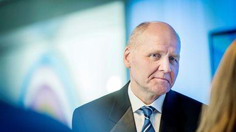 Telenor-sjef Sigve Brekke kjøpte Tapad i februar. Nå tar selskapet et kraftig tap på investeringen.