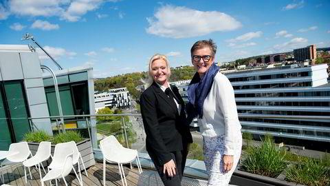 Årets Byrå går av stabelen i Norge 30. mai. Administrerende direktør Pia Grahn (til venstre) i det svenske analysebyrået Regi har fått med seg bransjeveteran Tonje Gjerstad på laget.
