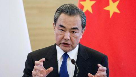 Kinas utenriksminister Wang Yi mener en Nord-Korea-konflikt kan bryte ut når som helst.