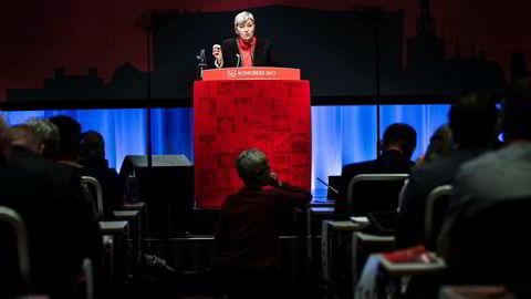 Her ved LO-kongressen kan ikke LO-leder Gerd Kristiansen gjenvelges fordi hun har passert 60 år.