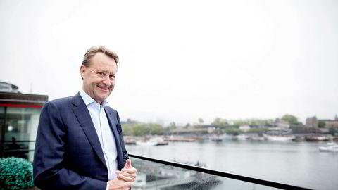 Bjørn Rune Gjelsten får oppløftende nyheter fra Konkurransetilsynet.