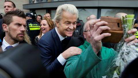 Geert Wilders Frihetsparti har tidligere gjort det langt bedre på målinger enn i valg.
