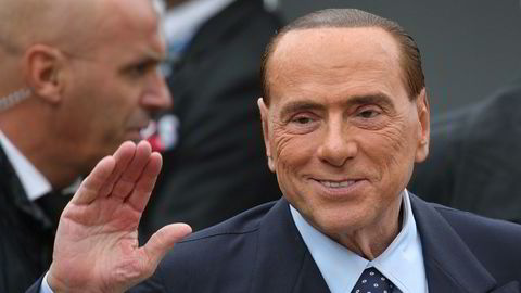 Tidligere statsminister i Italia, Silvio Berlusconi.