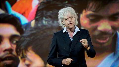 Bob Geldof snakket om gjennomslagskraft på EAT-konferansen tirsdag