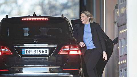 Sylvi Listhaug blir Frps finanspolitiske talsperson etter at partiet forlot Erna Solberg-regjeringen.