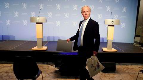 På en pressekonferanse 17. mars lanserte finansminister Jan Tore Sanner (H) kompensasjonsordningen og en tilhørende søknadsportal for norske bedrifter.