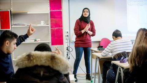 Hanan Abdelrahman på Lofsrud skole i Oslo er kåret til Norges beste mattelærer.