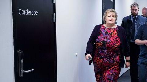 Statsminister Erna Solberg er på statsbesøk i Kina. Hovedfokus er næringsliv og ny frihandelsavtale.