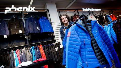 Anton Sports toppsjef Morten Borgersen har brukt de fire-fem siste årene til å gjennomføre snuoperasjonsplanen. Nå ser butikkene helt annerledes ut, som her på Bekkestua.