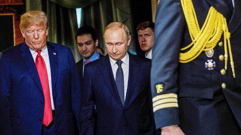 Møtet mellom USAs president Donald Trump og Russlands president Vladimir Putin har skapt debatt.