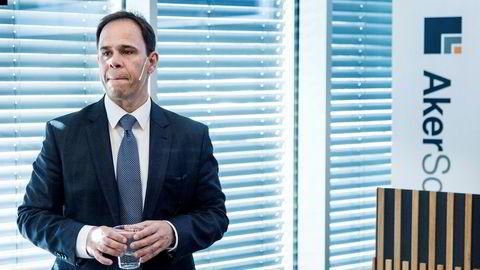 Aker Solutions-sjef Luis Araujo var forsiktig optimistisk da han la frem kvartalstall tirsdag morgen.