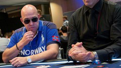 Investoren, gründeren, milliardæren og pokerspilleren Morten Klein startet selskapet River iGaming i 2017. Nå legger selskapet sine nettkasinoer ut for salg. Her fra en pokerturnering i Barcelona i 2013.
