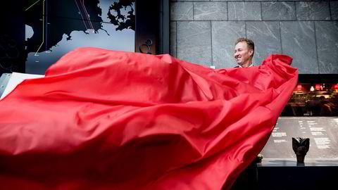 Administrerende direktør i Gassco Frode Leversund åpnet utstillingen «Nerver av stål» på Stavanger Oljemuseum torsdag. Selskapet hans styrer rørsystemet som eksporterer så godt som all norsk gass til kontinentet.