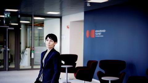 Juridisk direktør Karin Stakkestad Laastad i Konkurransetilsynet er fornøyde med at tingretten anerkjenner et brudd på konkurranseloven.