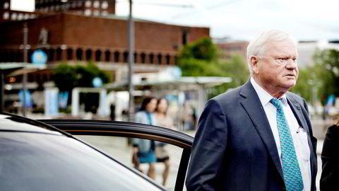 Skipsreder og milliardær John Fredriksen her avbildet i Oslo.