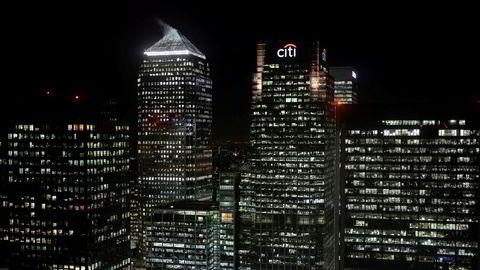 Citigroup får smekk på pungen av børs- og meglerbransjens selvregulerende organ i USA. Her fra et av bankens lokaler i London.