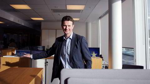 PGS-aksjen steg 20 prosent ved børsåpning onsdag etter at seismikkselskapet hadde fått på plass finansiering. PGS ledes av Rune Olav Pedersen.