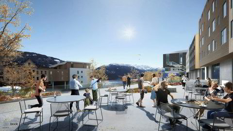 Hotellkjeden Scandics nye hotell på Voss får 216 rom.