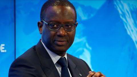 Administrerende direktør Tidjane Thiam i Credit Suisse fikk i fjor 101 millioner kroner i lønninger og bonuser til tross for at banken gikk på milliardtap.